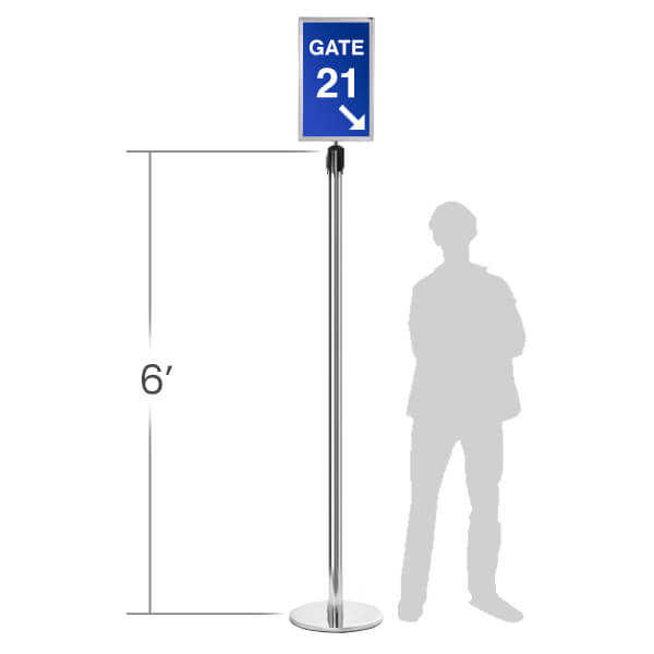 6'-tall-Pedestrian-Floor-Sign-Stand