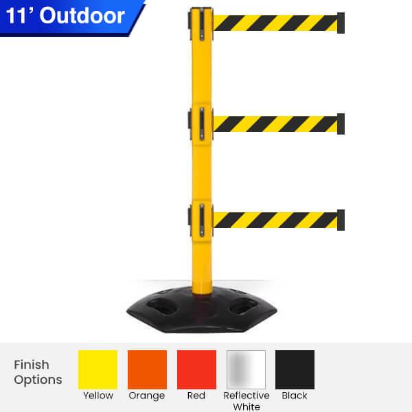 Outdoor-Safety-Retractable-Belt-Barrier-weathermaster-triple-3