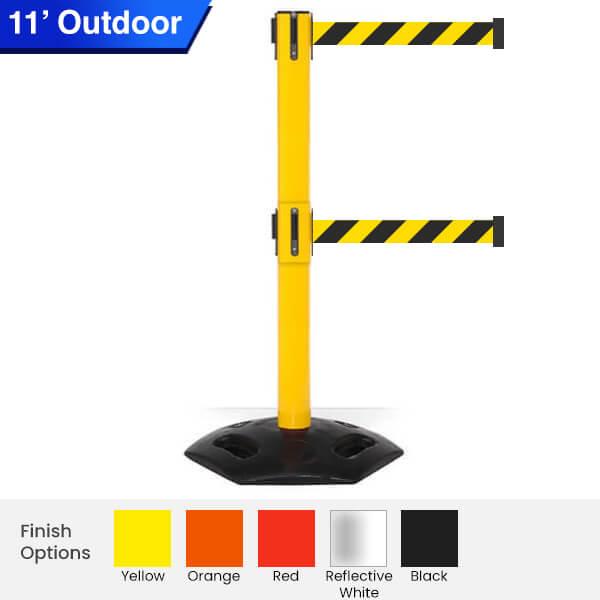 Outdoor-Safety-Retractable-Belt-Barrier-weathermaster-twin-3