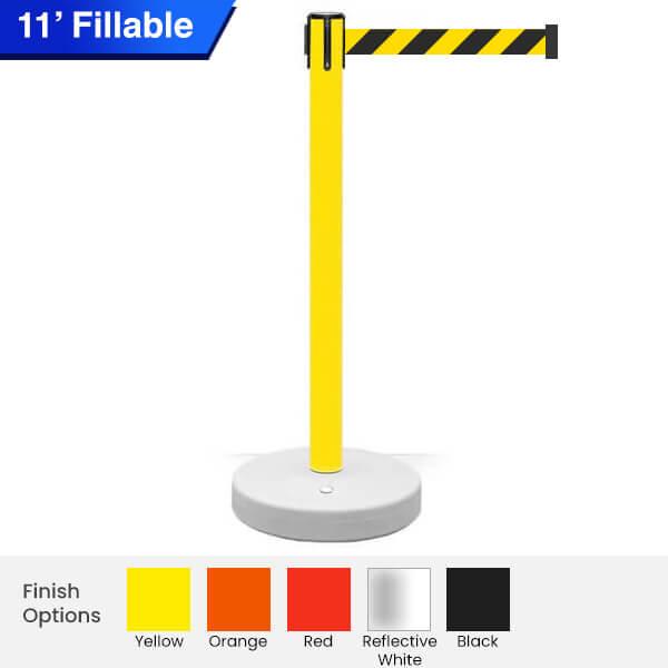 fillable-Safety-Retractable-Belt-Barrier-3