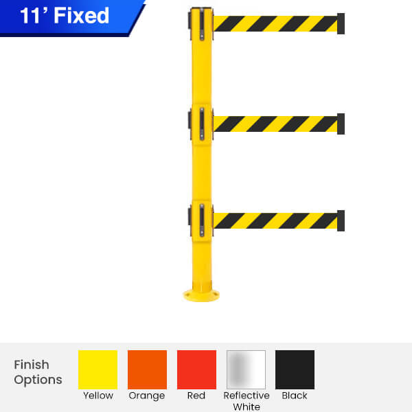 fixed-Safety-Retractable-Belt-Barrier-300-3