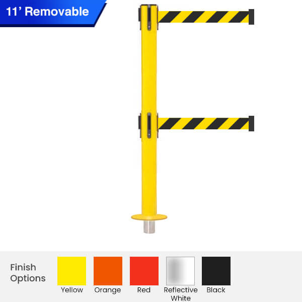 removable-Safety-twin-Retractable-Belt-Barrier-250-3