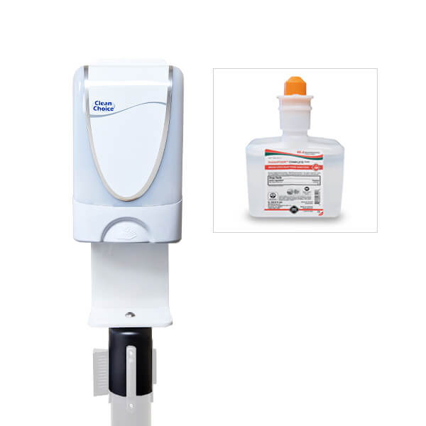 sanitizing station and refill bundle