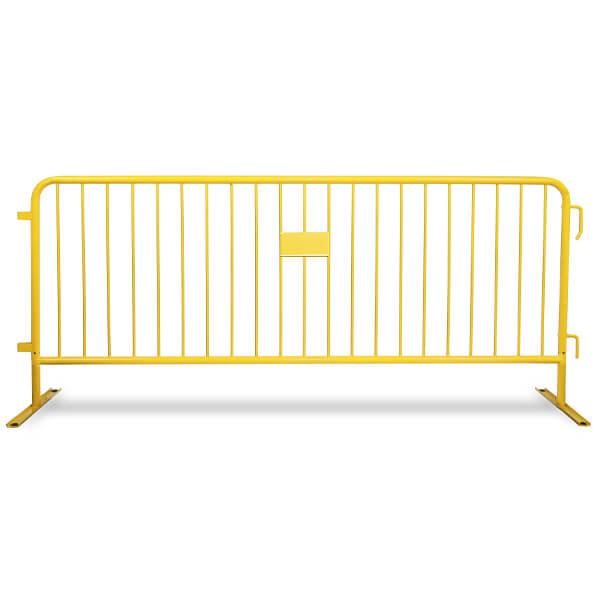 steel-barricades-yellow