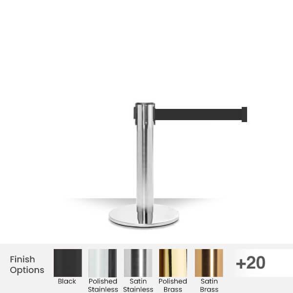 Retractable-Belt-Barrier-pro-mini-300-stanchion