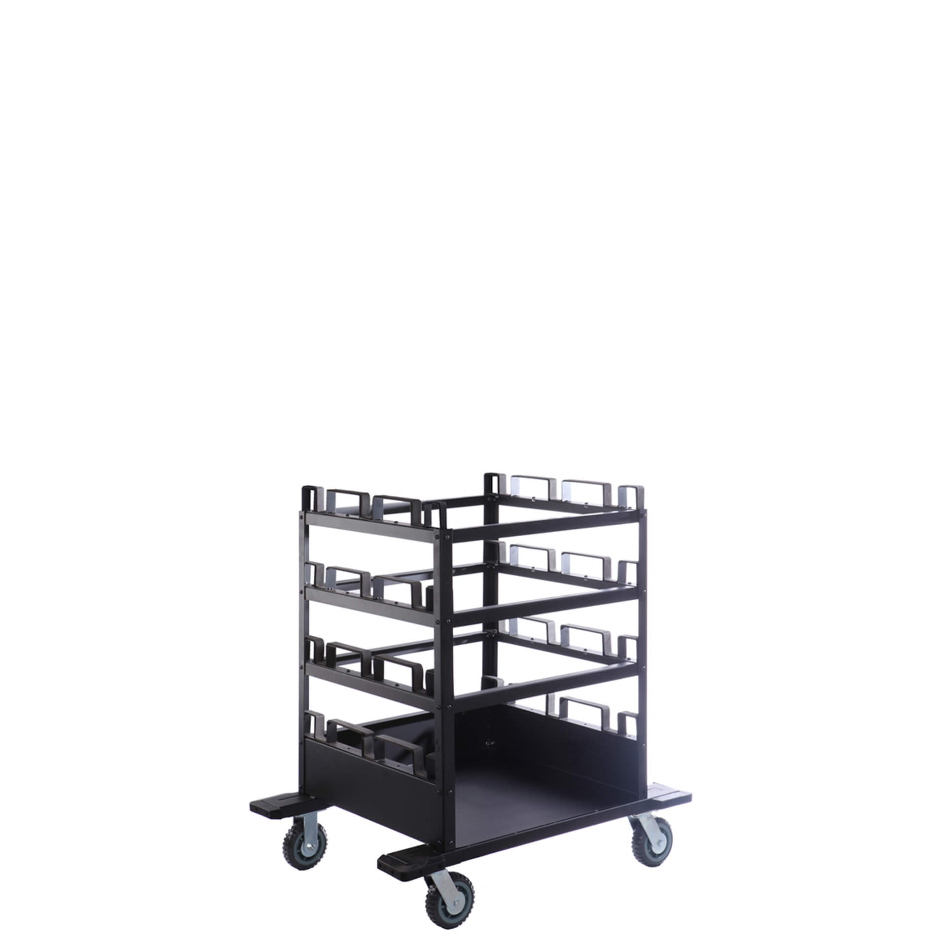 12-post-stanchion-horizontal-storage-cart