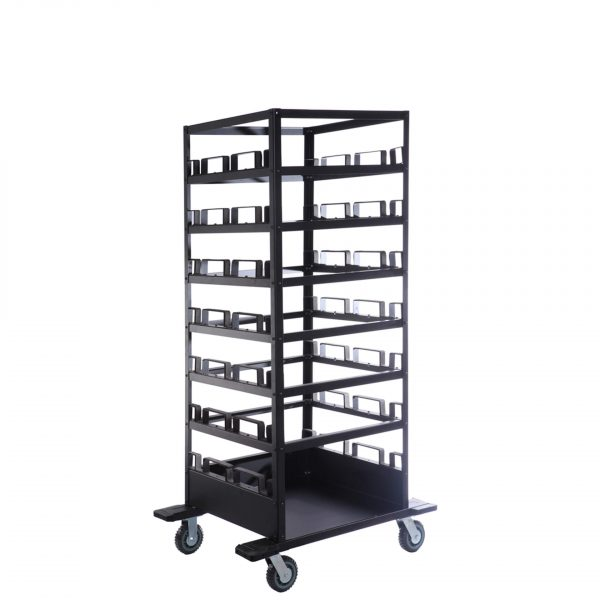 21-post-stanchion-horizontal-storage-cart