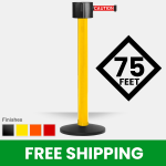 safety-stanchion-775-Retractable-Belt-Barrer-yellow