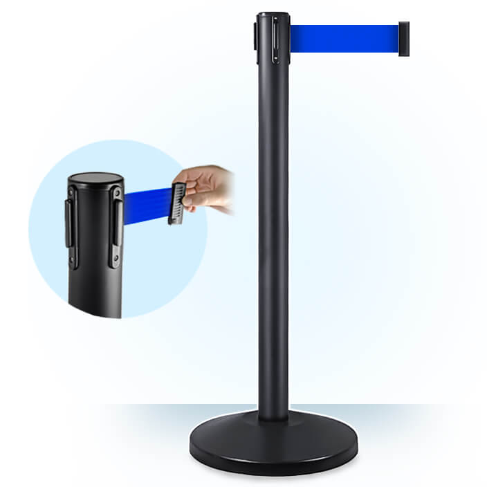 stanchions-value-black-stanchion-black-belt-2020-blue