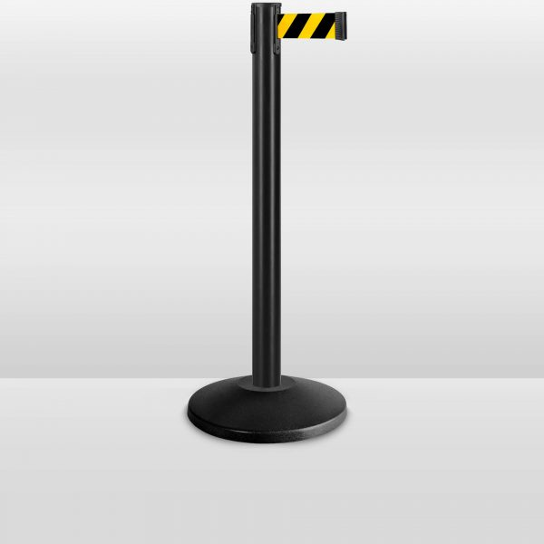 stanchions-value-black-stanchion-yellow-black-belt