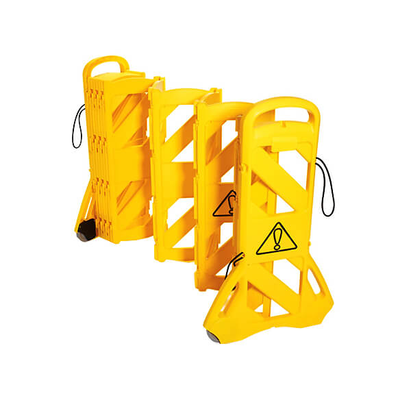 Mobile-Plastic-Folding-Barricade