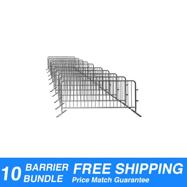 steel-interlocking-crowd-control-barriers-barricades-10pack