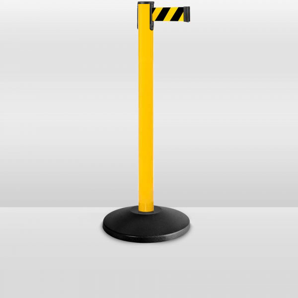 value-serier-yellow-stanchion-barrier-YB