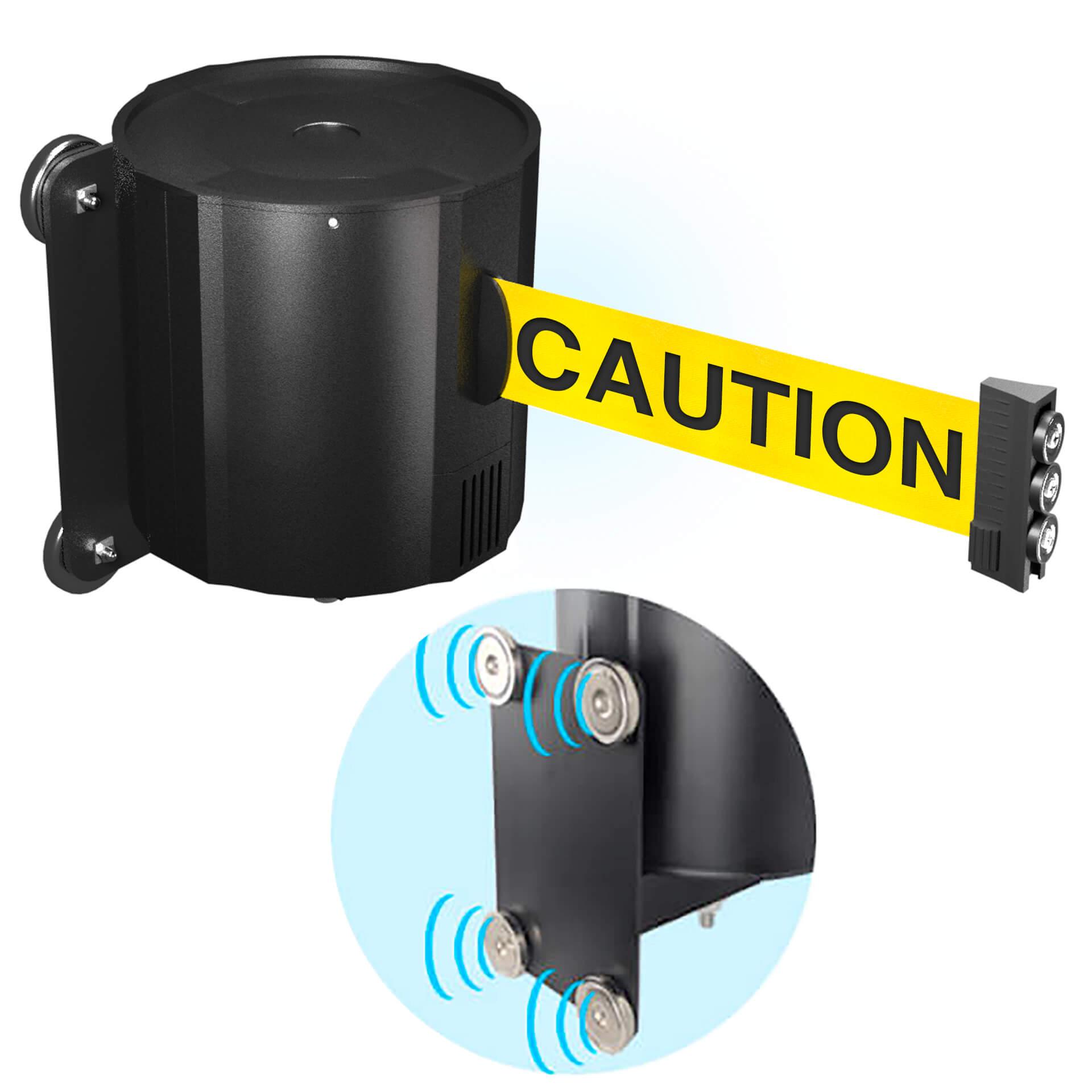 wallmounted-335-retractable-belt-barrier-lb